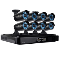 Night Owl 8 Channel Smart HD Video Security System with 2 TB HDD and 8 x 720p HD Cameras