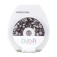 Memorex Tranquility DVD-R 16x 4.7/120 Minute 10 Pack