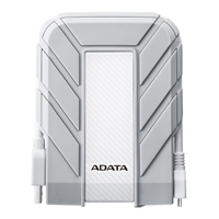 ADATA HD710 1TB SATA Waterproof External Hard Drive for Apple MacBook White