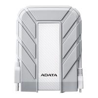 ADATA HD710 1TB SATA Waterproof External Hard Drive for Apple MacBook White