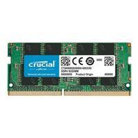 Crucial 4GB DDR4-2400 (PC4-19200) SO-DIMM Memory Module