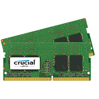 Crucial 32GB DDR4-2400 (PC4-19200) Notebook Memory Kit (Two 16GB Memory Modules)