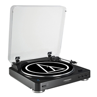 Audio Technica Wireless Belt-Drive Stereo Turntable - Black
