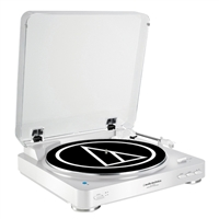 Audio Technica Wireless Belt-Drive Stereo Turntable - White