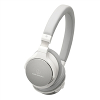 Audio Technica Wireless On-Ear Headphones - White