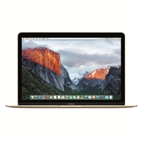 "Apple MacBook MLHE2LL/A 12.0"" Laptop Computer - Gold"