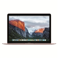 "Apple MacBook MMGM2LL/A 12"" Laptop Computer - Rose Gold"