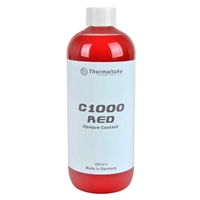 Thermaltake Opaque Liquid Cooling System Coolant, Red - 1000 ml