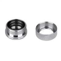 Thermaltake Pacific DIY LCS PETG Chrome 16mm 5/8 OD Compression Fitting