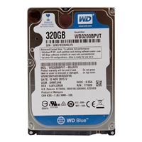 "WD WD3200BPVT Scorpio Blue 320GB 5,400 RPM 2.5"" Notebook Hard Drive"