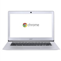 Acer CB3-431-C5FM Chromebook 14 - Sparkly Silver