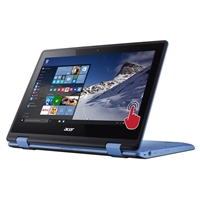 "Acer Aspire R11 R3-131T-P3NN Touch 11.6"" 2-in-1 Laptop Computer - Sky Blue"