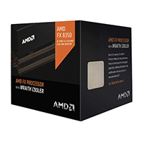 AMD FX 8350 Black Edition Vishera 4.0GHz Eight-Core Socket AM3+ Boxed Processor with Wraith Cooler
