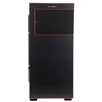 Inwin 707 Windowed E-ATX Full-Tower Chassis - Black