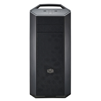 Cooler Master MasterCase Maker 5 Red LED ATX Mid-Tower Case - Black