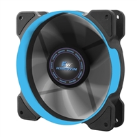Kingwin 120mm Long Life Bearing Case Fan Blue