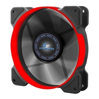 Kingwin 120mm Long Life Bearing Case Fan Red