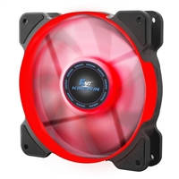 Kingwin 120mm LED Performance Fan Red