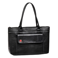"RIVACASE Ladies Laptop Tote Fits up to 15.6"" - Black"