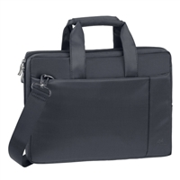 "RIVACASE Laptop Bag Fits up to 13.3"" - Black"