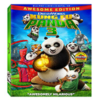 20th Century Fox Kung fu Panda 3 Blu Ray