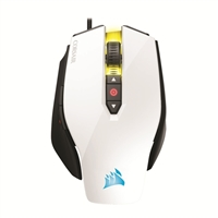 Corsair M65 PRO RGB FPS Gaming Mouse - White