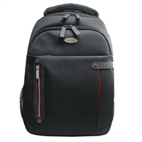 "Eco Style Tech Pro Checkpoint Friendly Backpack Fits Screens up to 16.4"" - Black"