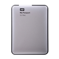 WD 500GB USB 3.0 External Hard Drive for Mac WDBLUZ5000ASL Factory Recertified