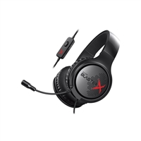 Creative Labs Sound BlasterX H3 Gaming Headset - Black
