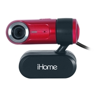 iHome Webcam W313 Red