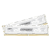 Crucial Ballistix Sport LT 16GB 2 x 8GB DDR4-2400 PC4-19200 CL16 Dual Channel Desktop Memory Kit