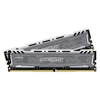 Crucial Ballistix Sport LT 32GB 2 x 16GB DDR4-2400 PC4-19200 CL16 Dual Channel Desktop Memory Kit