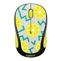 Logitech M325c Wireless Optical Mouse - Lemon