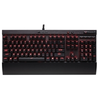 Corsair Gaming K70 LUX Illuminated Mechanical Keyboard - Cherry MX Blue