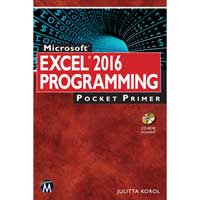 Stylus Publishing EXCEL 2016 PROG POCKET