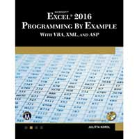 Stylus Publishing EXCEL 2016 PROG EXAMPLE