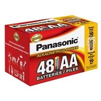 Panasonic Energy of America Alkaline Plus Power AA Batteries 48-Pack