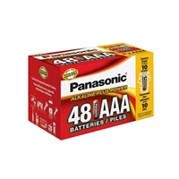 Panasonic Energy of America Alkaline Plus Power AAA Batteries 48-Pack