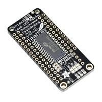 """Adafruit Industries 0.8"""" 8x16 LED Matrix FeatherWing Display Kit - White"""