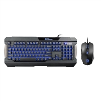 Thermaltake eSports Commander Combo Multi-Light LED Gaming Keyboard & Mouse Bundle