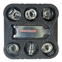 Monsoon 3/8 ID 1/2 OD Hardline Compression Conversion Kit 6pcs