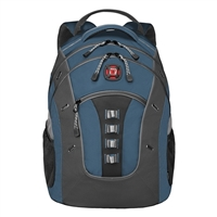 "Swiss Gear Granite Backpack Fits up to 16"" - Blue/Black"