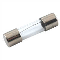 NTE Electronics 5 x 20mm Miniature Glass Slow Blow Fuse - 5 Pack