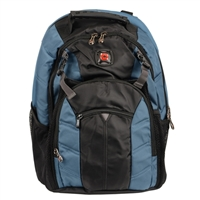 "Swiss Gear Sherpa Laptop Backpack Fits Screens up to 16"" - Blue/Black"