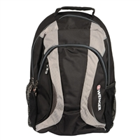 "Swiss Gear Mercury DX Backpack Fits up to 16"" - Black/Gray"