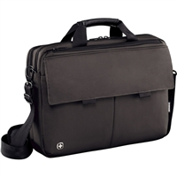 "Swiss Gear Route Messenger Bag Fits Screens up to 16"" - Gray"