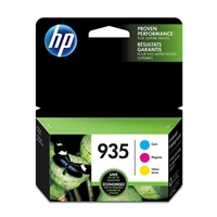 HP 935 C/M/Y Color Ink Cartridge Combo 3-pack