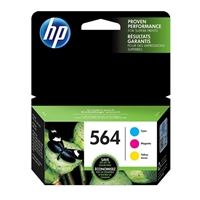 HP 564 Color Combo 3-Pack