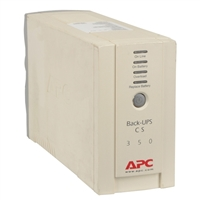 APC BK350 (Factory-Recertified) Back-UPS 350VA 210W 6-Outlet UPS