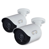 Night Owl 1080p HD Analog Bullet Cameras White